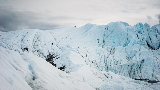 plastica anche sui ghiacciai