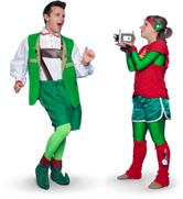 Elves Playing