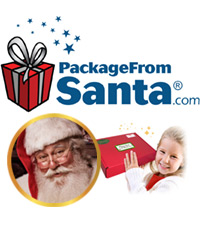 PackageFromSanta.com Logo and Images