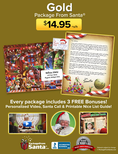 Gold Package from Santa®