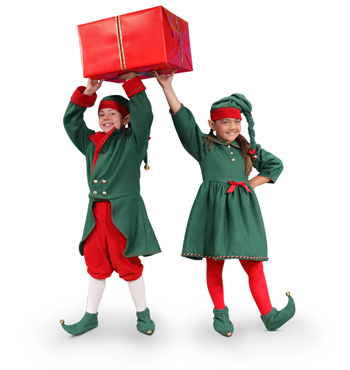 Elf Abby and Elf Jake