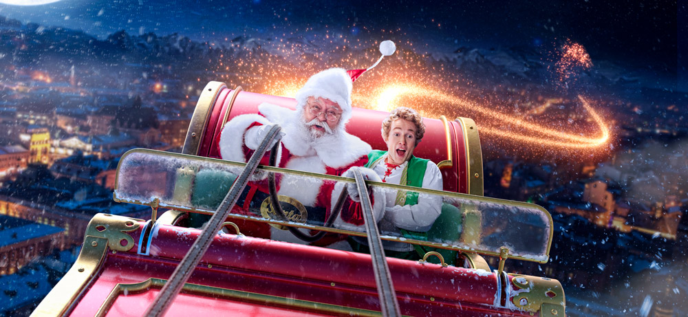 Dale and Carey and Santa