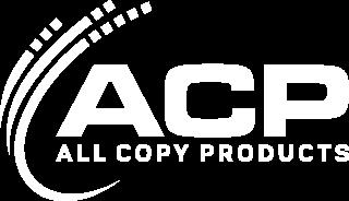 white ACP logo