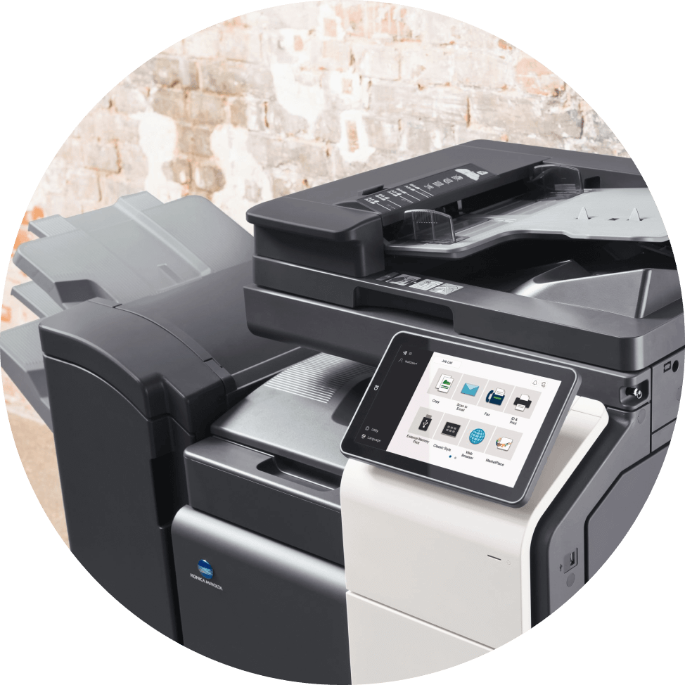 konica minolta multifunction printer