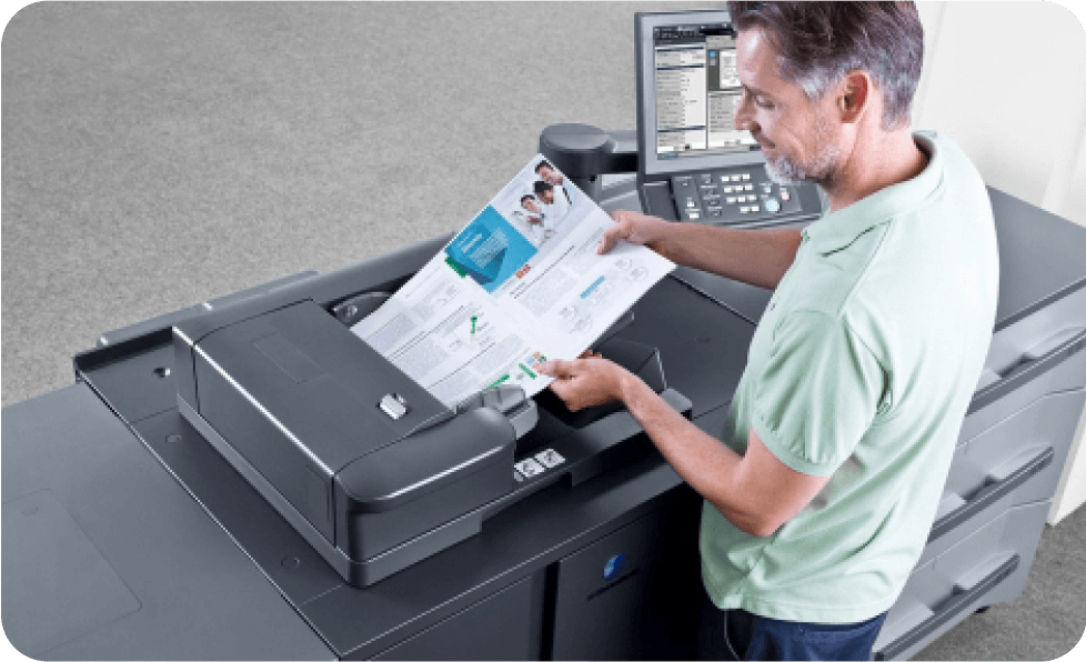 konica minolta production printer