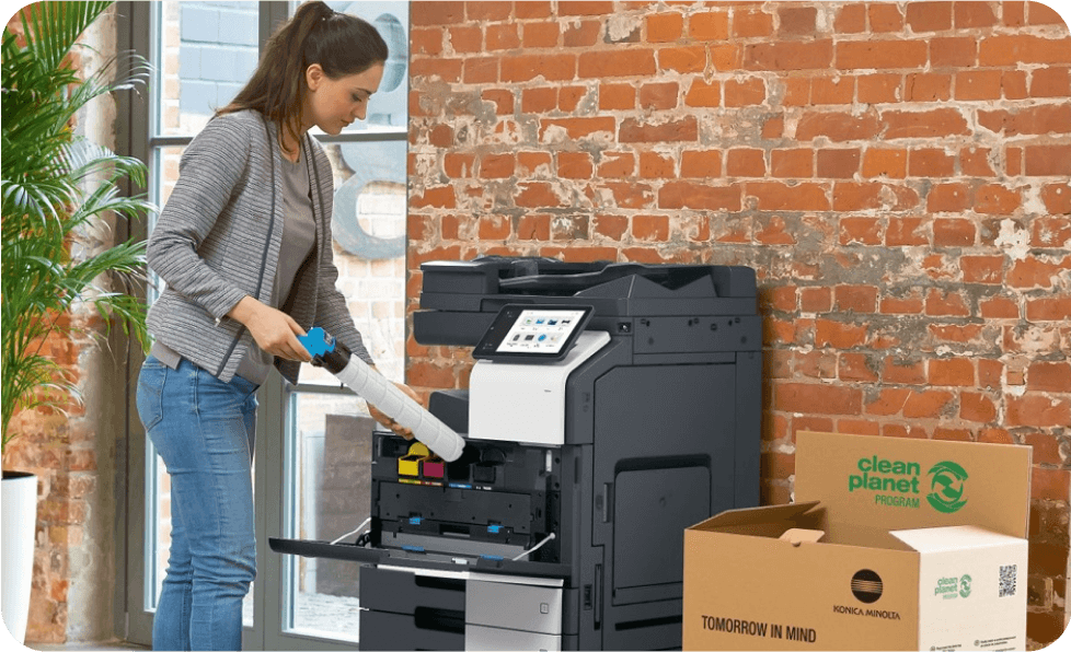 konica minolta office copier