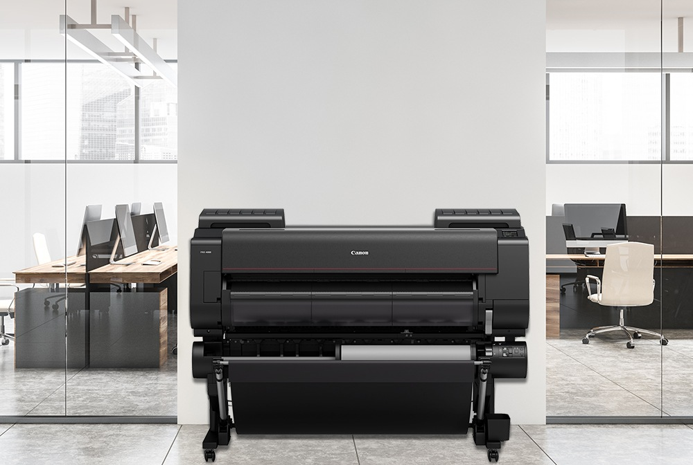 canon c4000 wide format printer