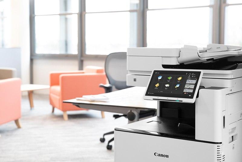 Canon copier machine controller display