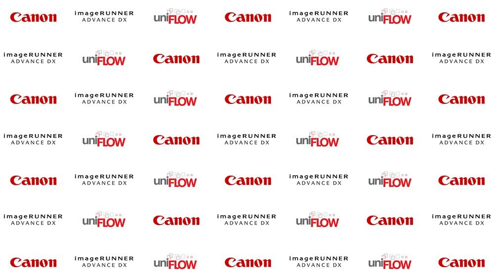 Canon and uniflow logos