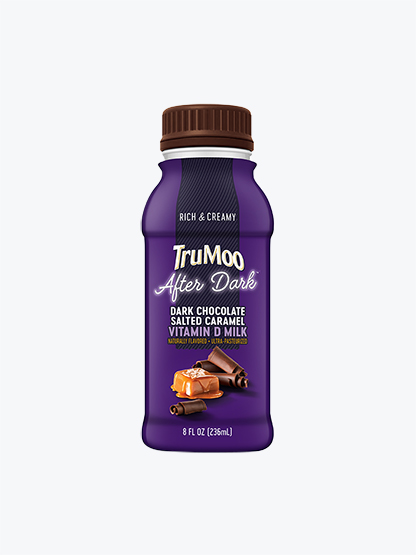 after dark purple single serving bottle