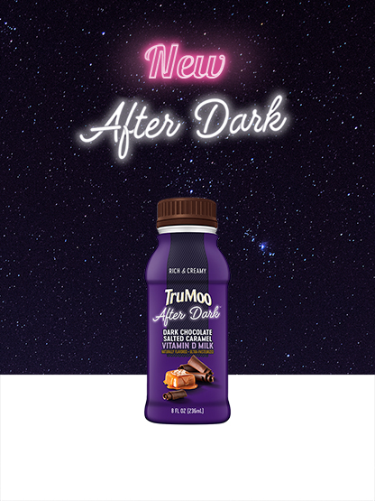 after dark bottle with galaxy background