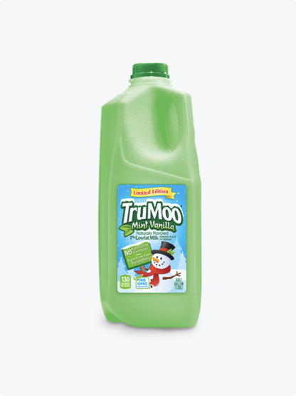green half gallon bottle