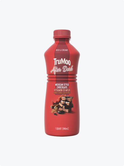 single serving red mexican chocolate bottle