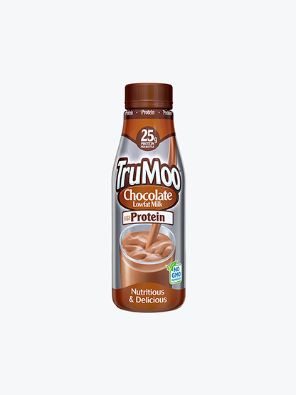 single serving brown high protein bottle