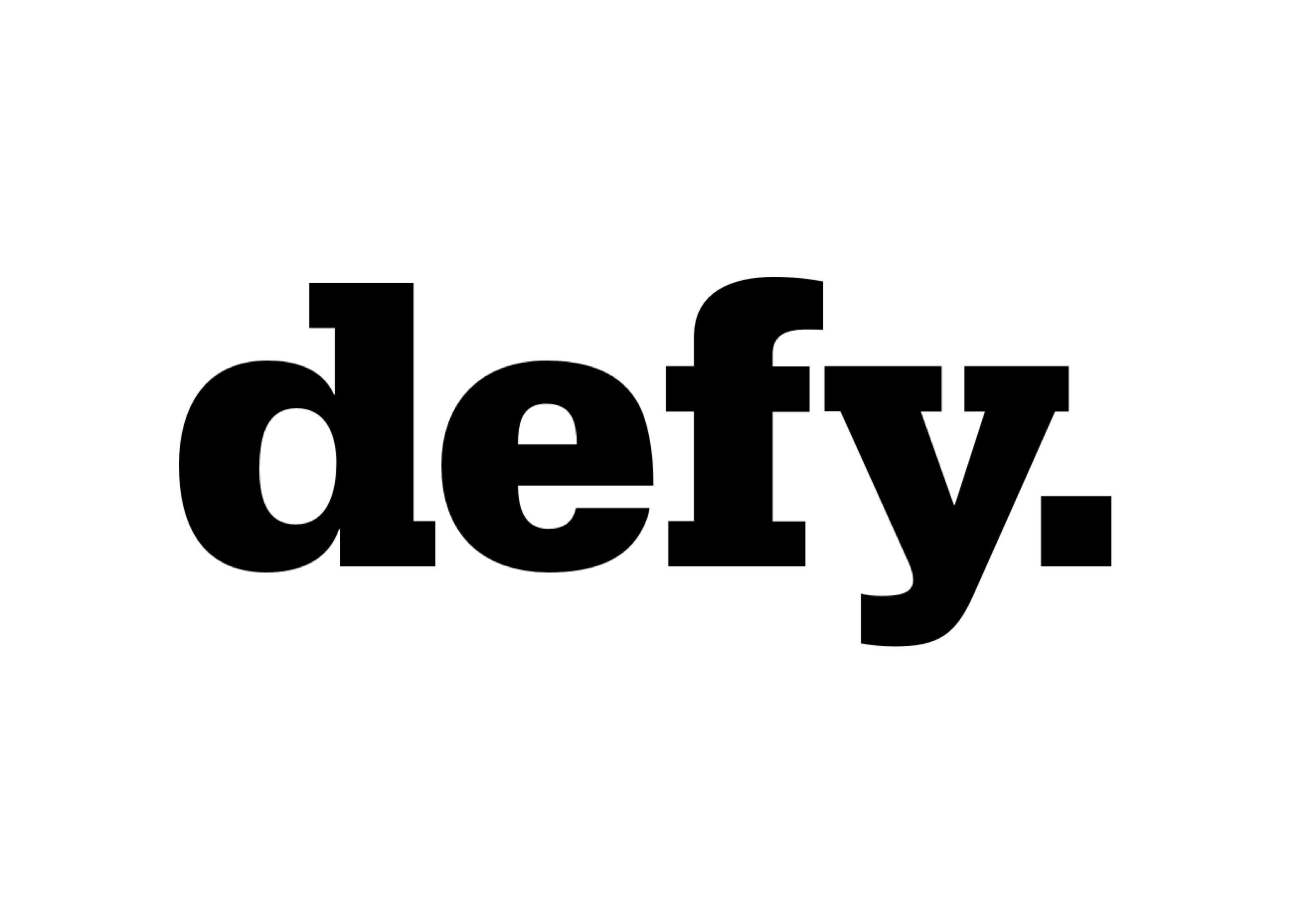 Defy Company Logo