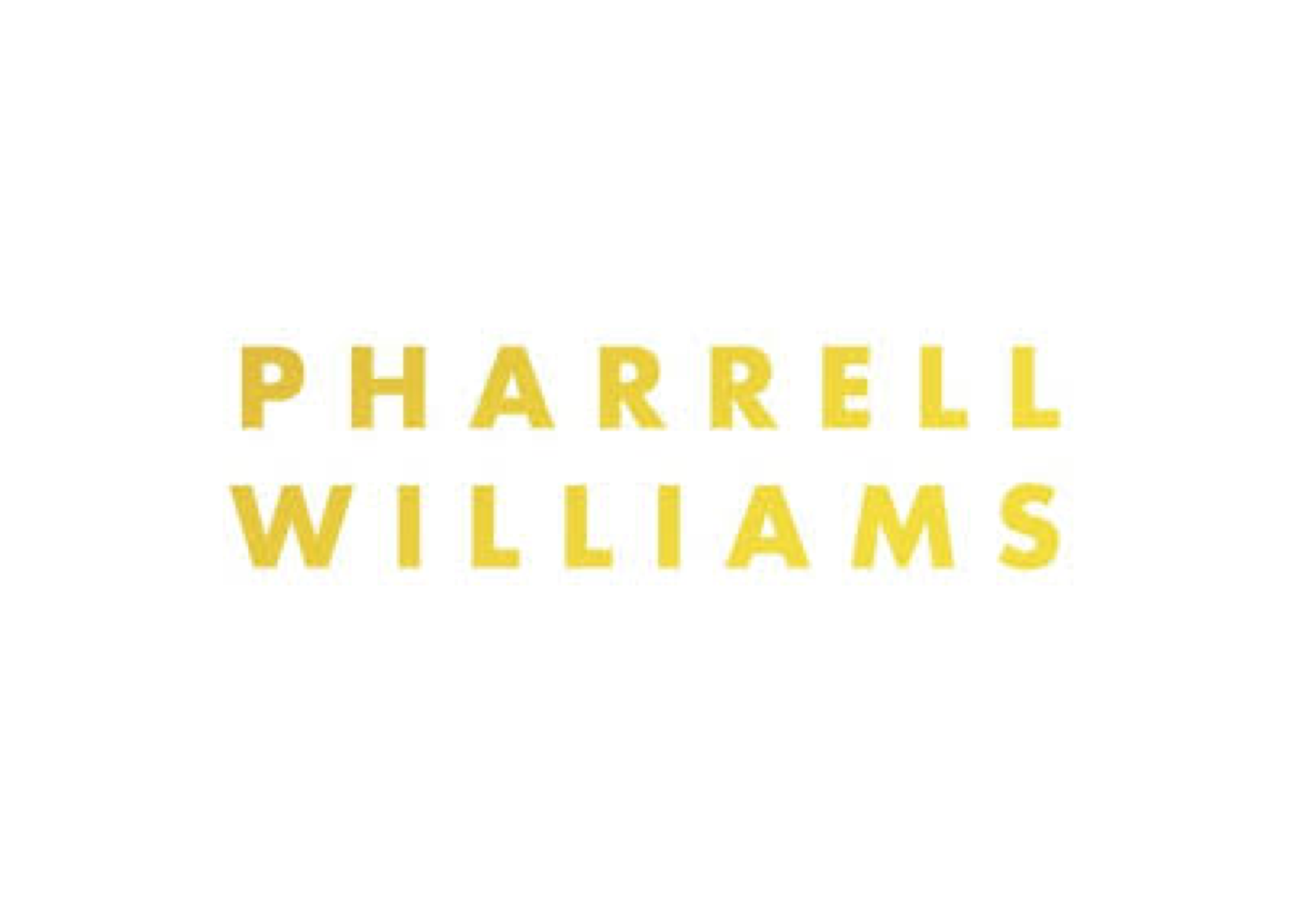 Pharrell Williams Artist Logo