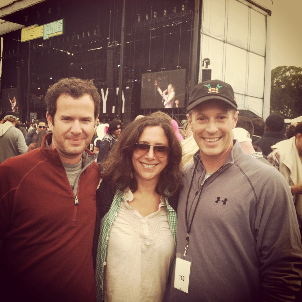Image of Marc and Holly Ruxin and Marc Geiger