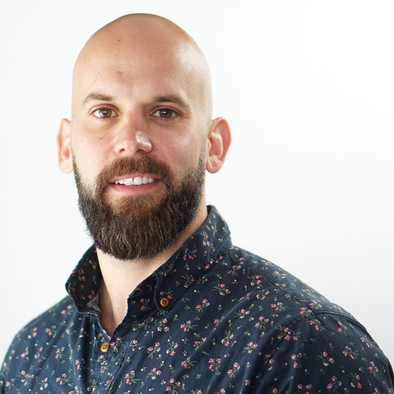 Portrait of Mixhalo Head of Legal and VP of Operations Corey Laplante