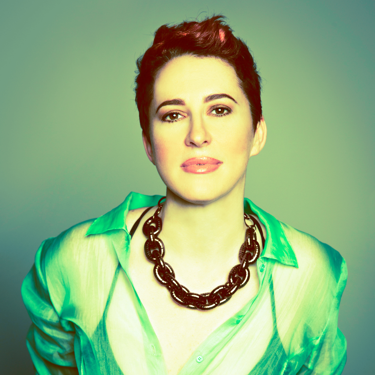 Portrait of Mixhalo VP of Design Tiffany Hughes