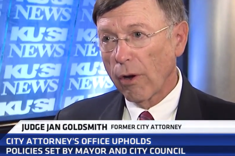 Judge Jan Goldsmith Praises Cory Briggs For City Attorney 2020