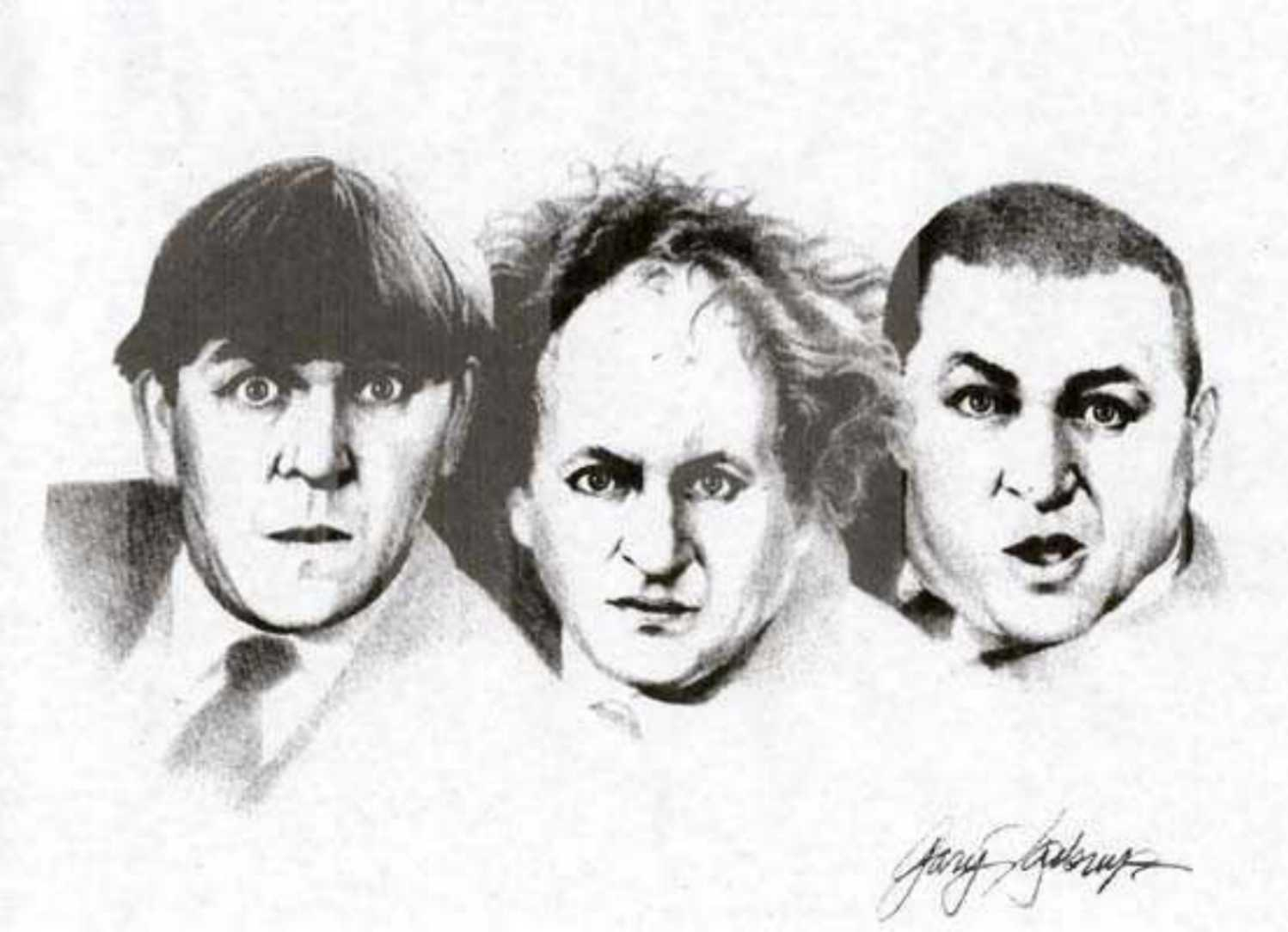 Portrait of the Three Stooges