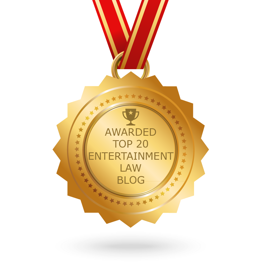 Top 20 Entertainment Law Blog