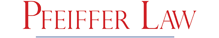 Pfeiffer Law Logo