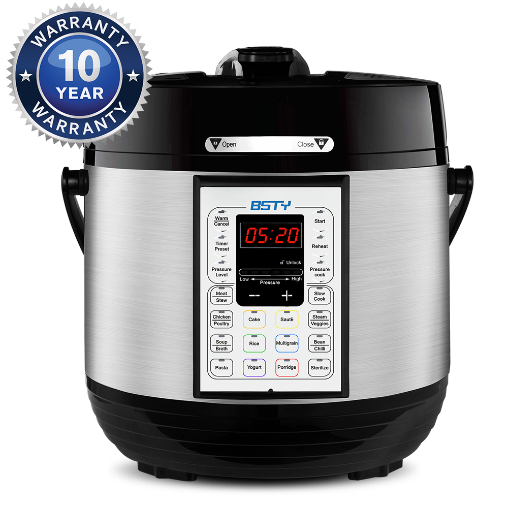 BSTY Kitchen Products - 7-in-1 Slow Cooker (6-QT)
