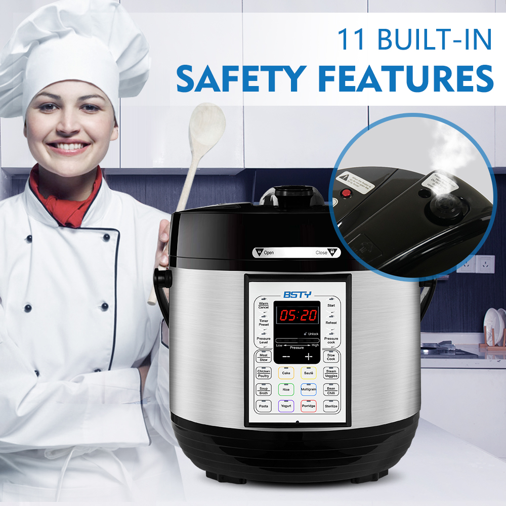 pressure cooker safety features