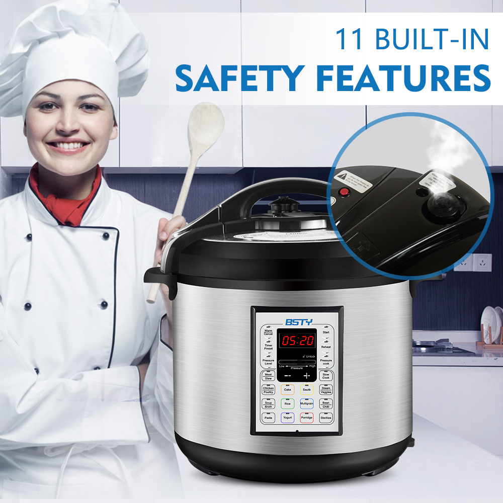 pressure cooker safety feature
