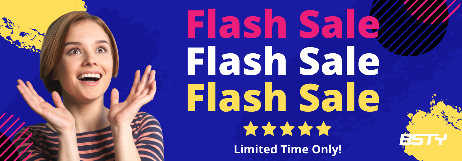 BSTY Flash Sale 5