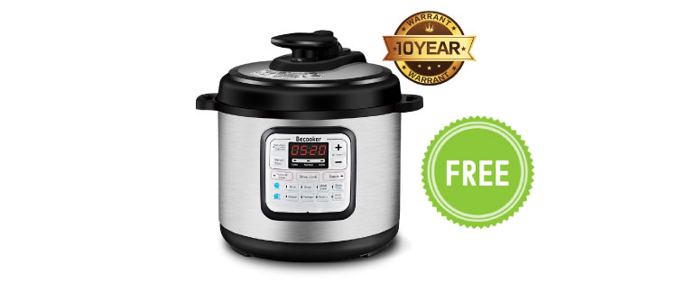 BSTY Pressure Cooker Free