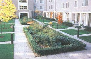 Bioretention landscaping