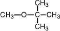 Formula for Methyl Tertiary Butyl Ether