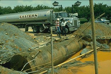 Contaminated site