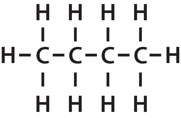 Chemical structural formula example