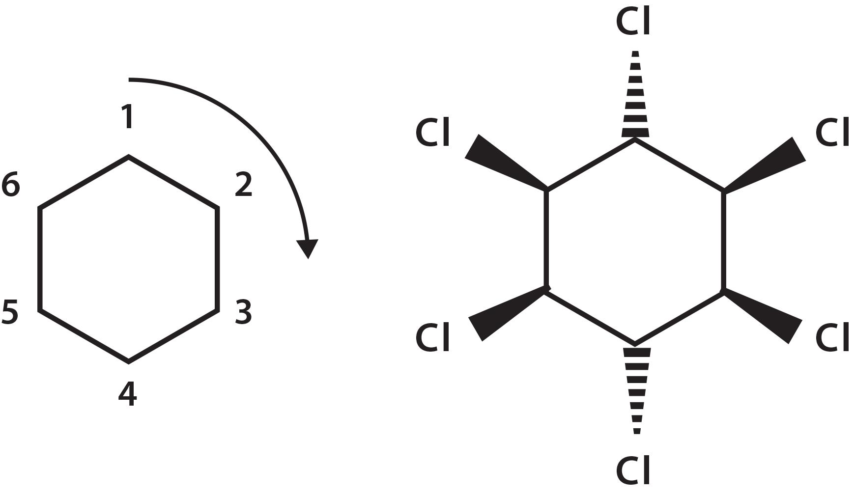 Hexagon chemical formula