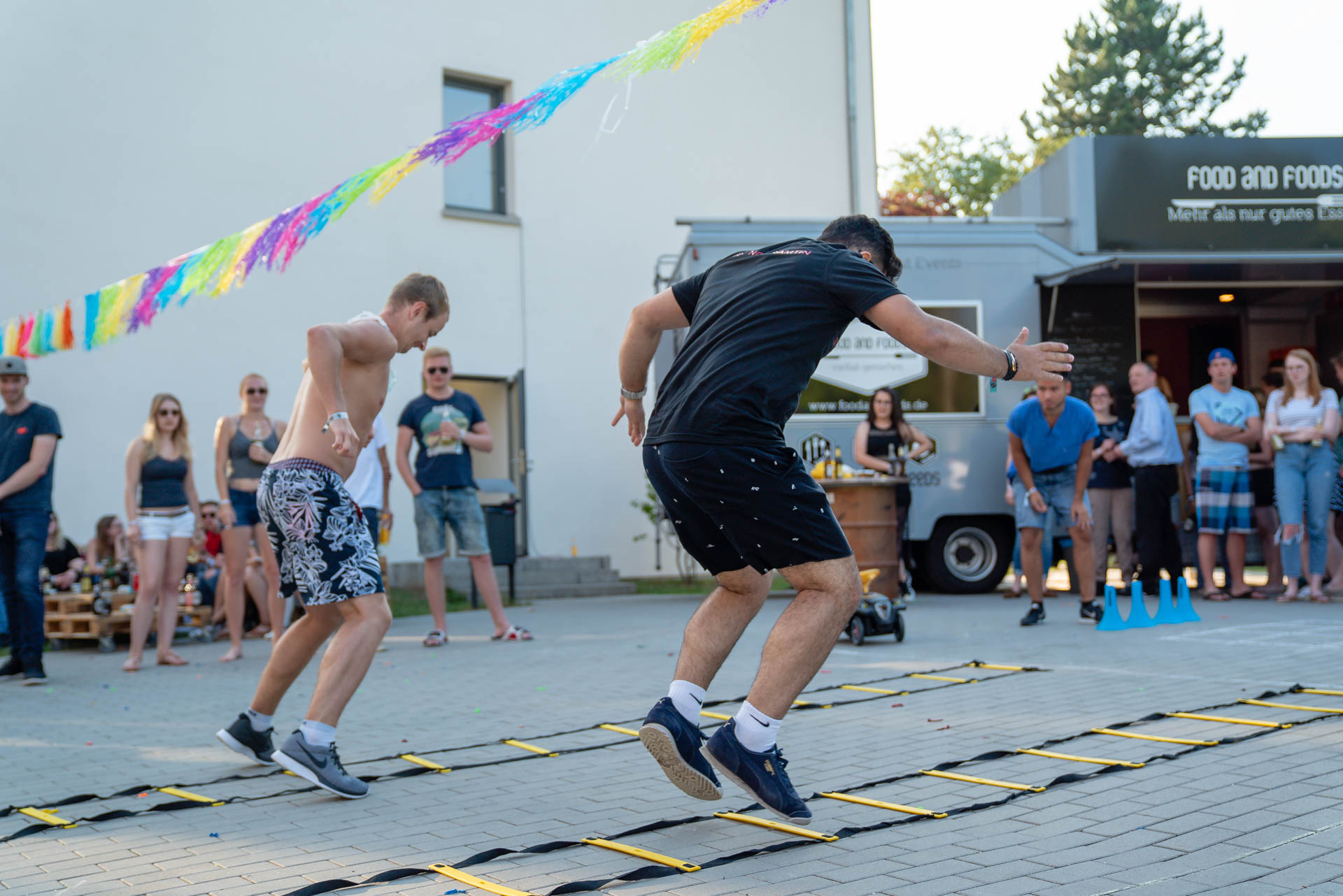 """THE FIZZ Summer Games 2018: Game 4 """"Fitness First Parcours"""""""