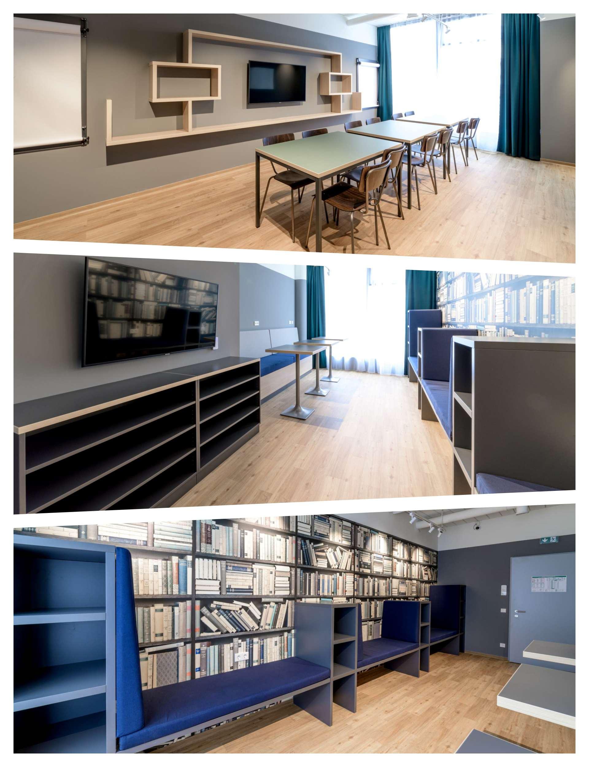 Study Rooms at THE FIZZ Vienna Main Station Student Residence