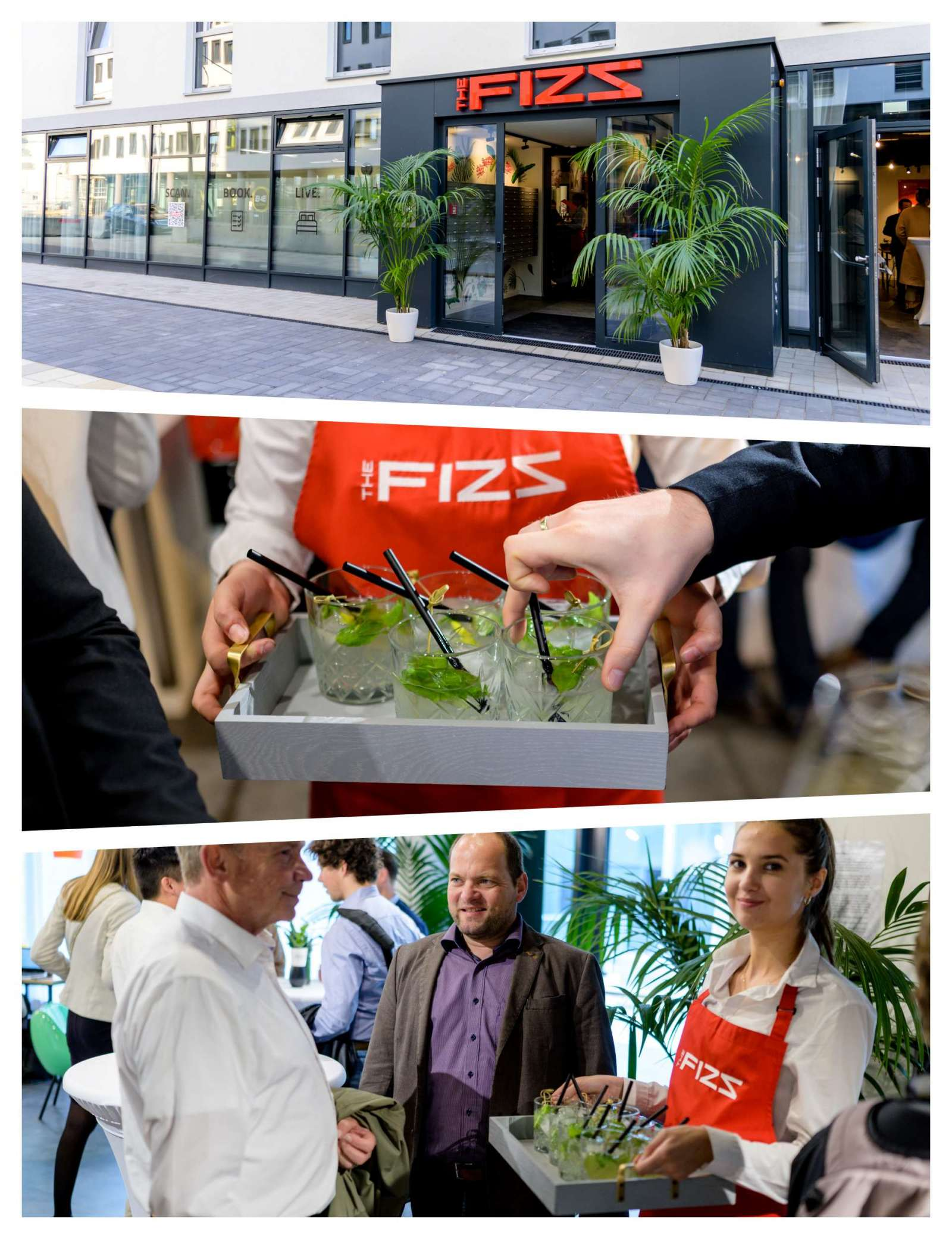 Opening Party at THE FIZZ Vienna Main Station