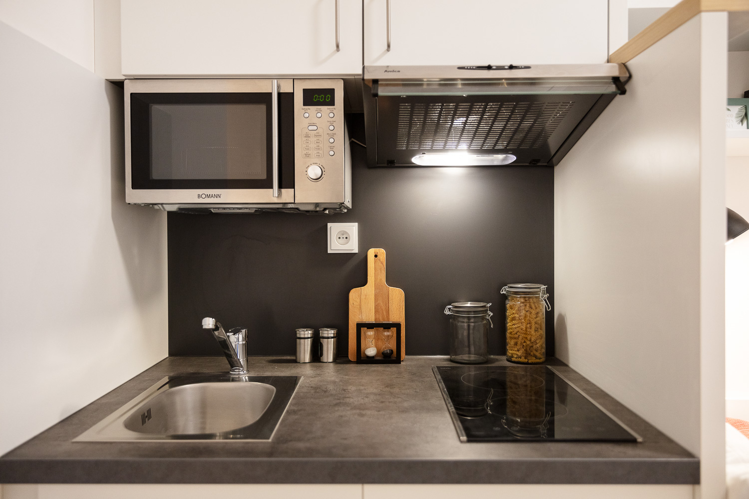 Student apartment with private kitchen at THE FIZZ Prague