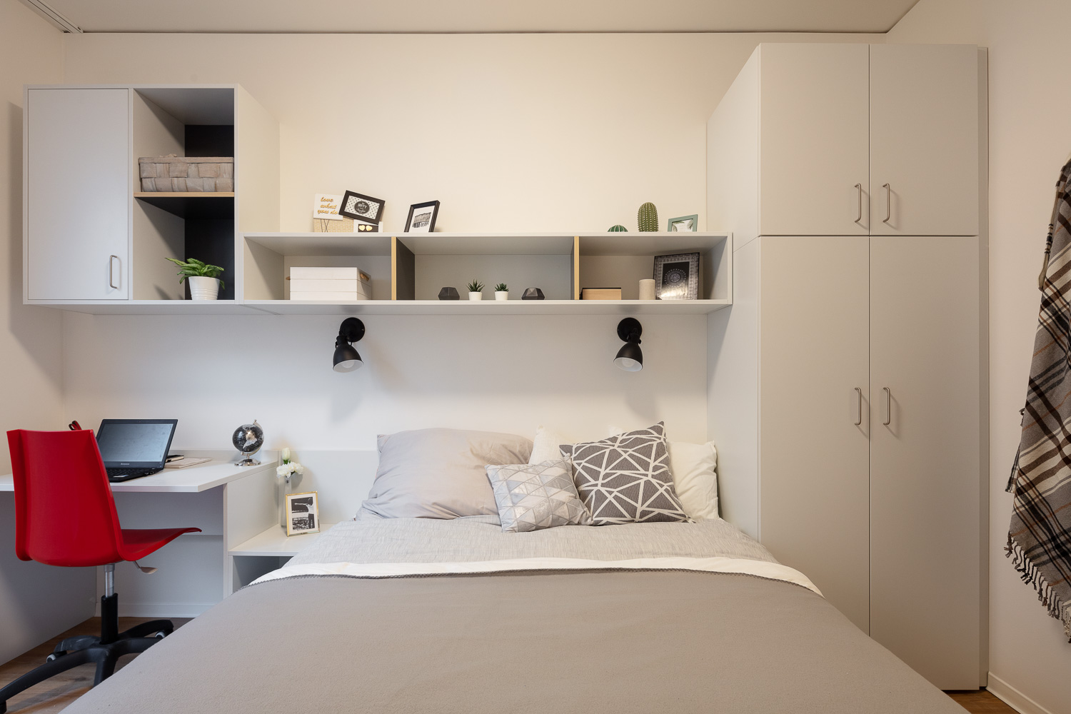 Double Studio at THE FIZZ Prague Student Residence