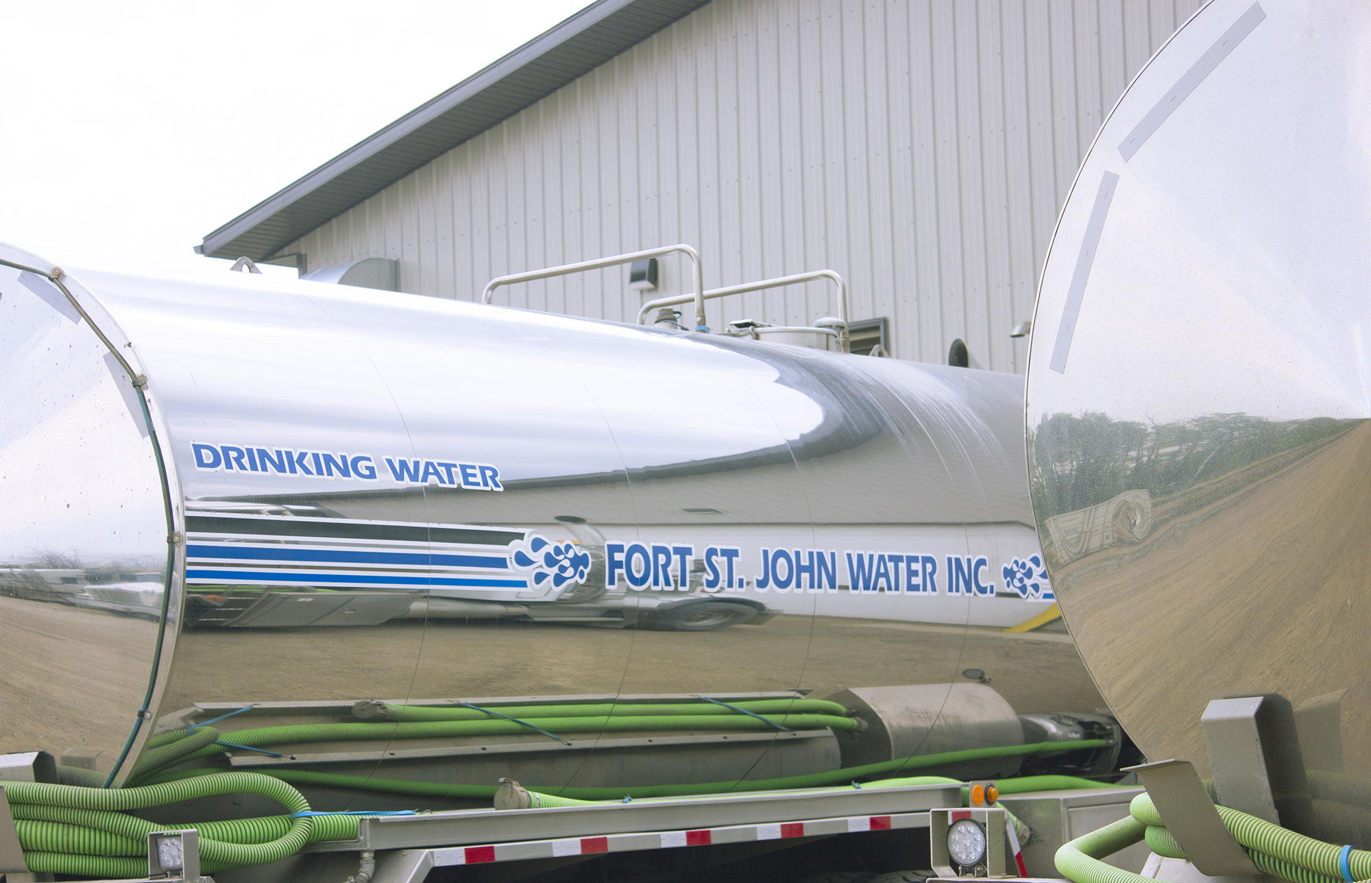Bulk potable water hauling, BC and Alberta