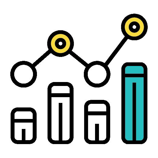 poster statistics graph icon
