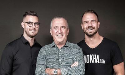 ikhokha founders Matt, Ramsy, Clive