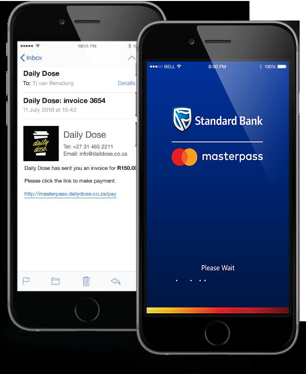 ikhokha send pay request customer view app screens