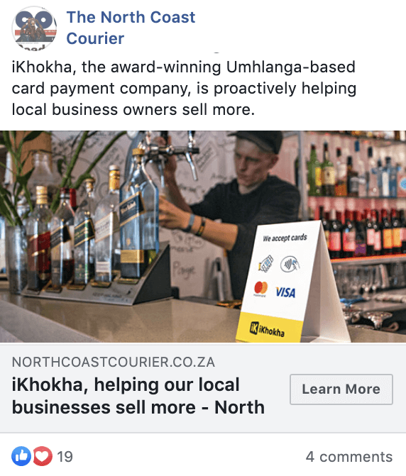 iKhokha helps local businesses help more