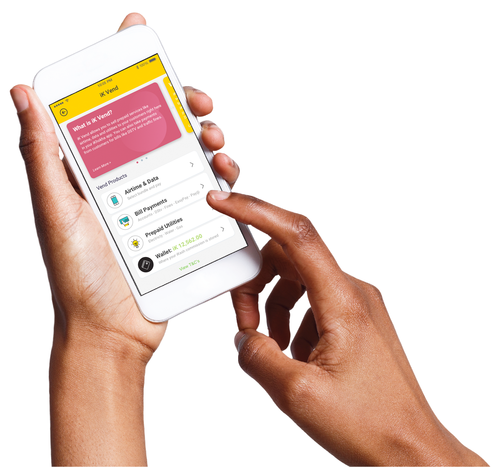 Sell Prepaid Services, airtime and electricity - iKhokha Vend