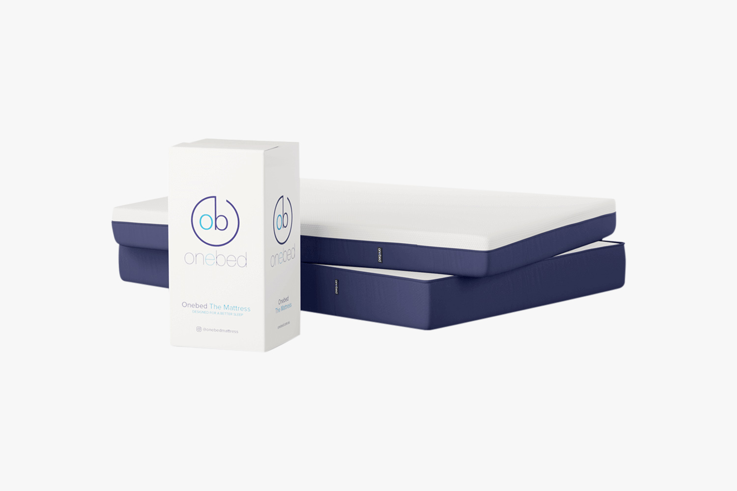 Onebed mattress in a box