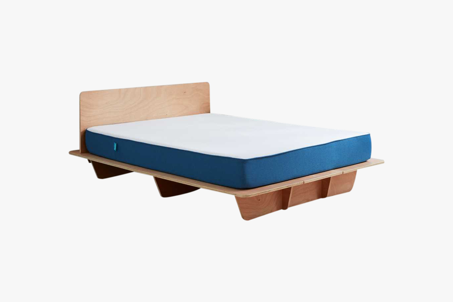 Koala mattress and wooden bed frame